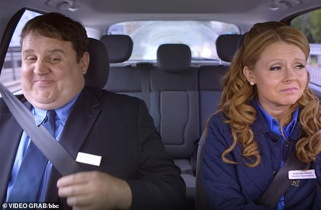 Big news:Peter Kay is reportedly in early talks with the BBC for a new television project, over a year after the final episode of his series Car Share (pictured) came to an end