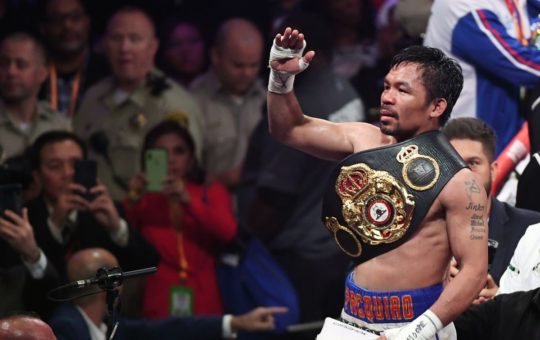 Manny Pacquiao Token to Launch in IEO on GCOX Exchange