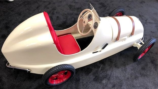 Sherlock star's appeal over dad's 'precious' toy pedal car