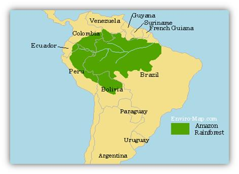 Image result for mapping amazon rainforest